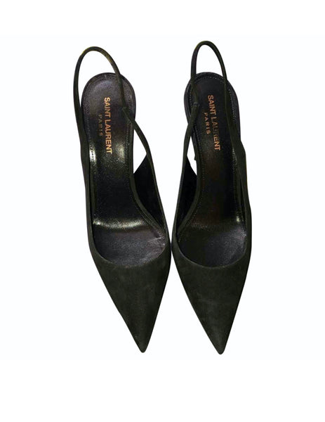Saint Laurent Lexi Slingback pumps - Iconics Preloved Luxury
