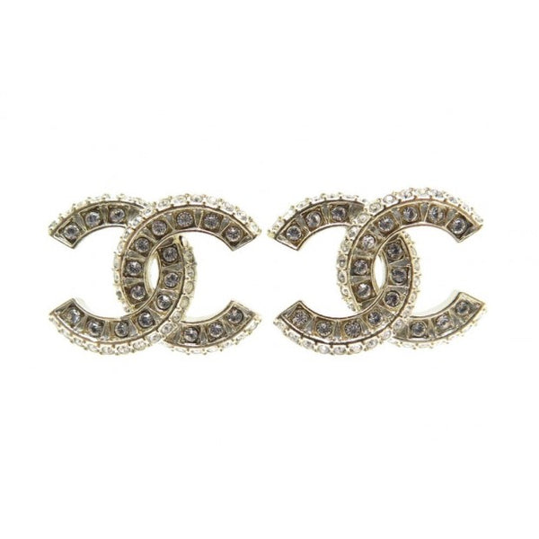 Chanel CC Strass earrings - Iconics Preloved Luxury