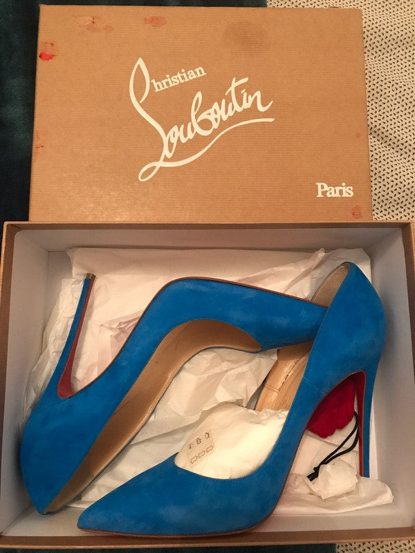 Christian Louboutin So Kate Suede 40,5 - Iconics Preloved Luxury