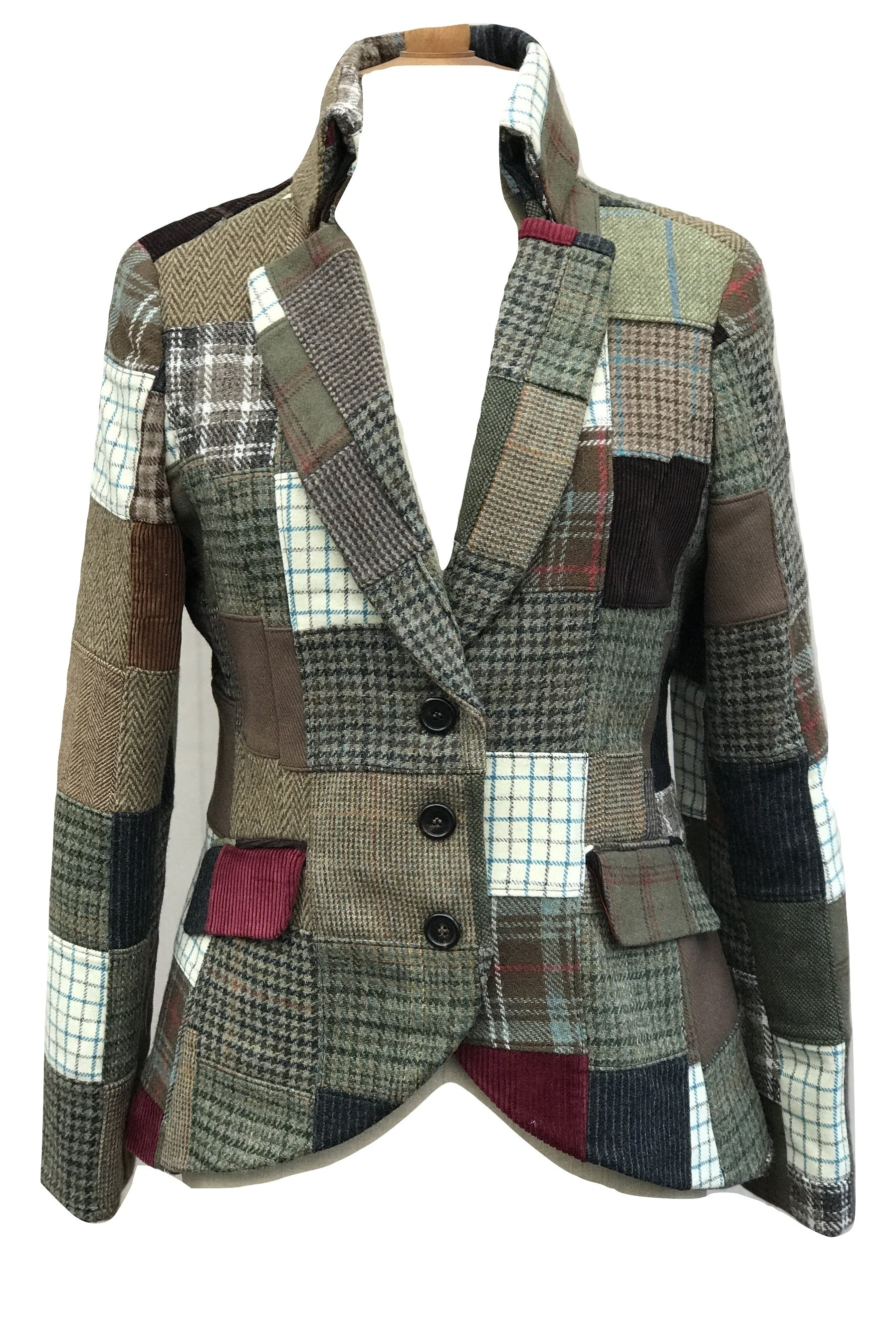 Moloh wool blazer M - Iconics Preloved Luxury