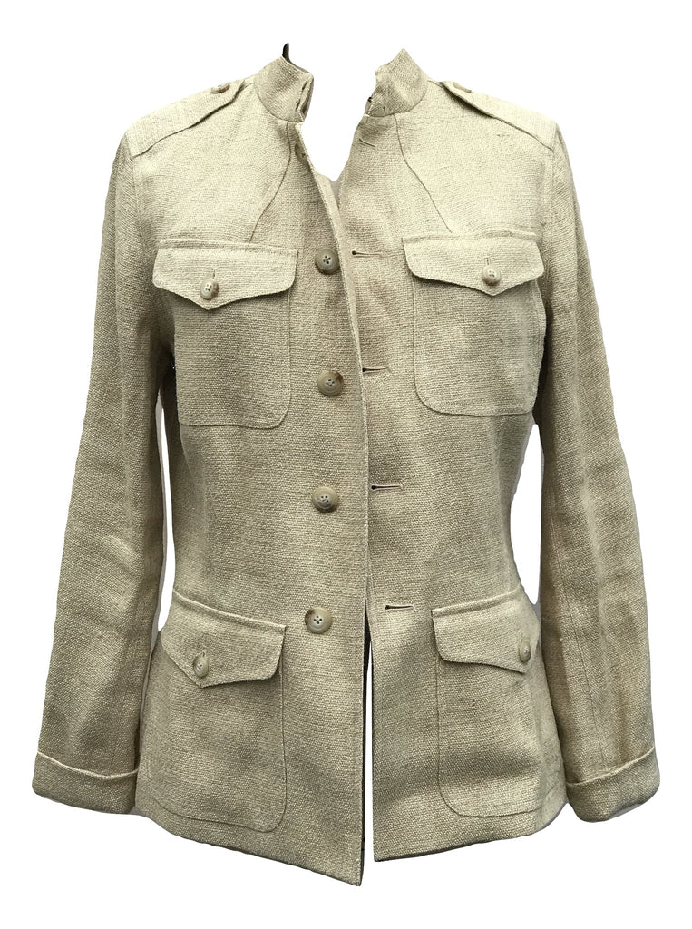 Ralph Lauren jute Jacket 12 - Iconics Preloved Luxury