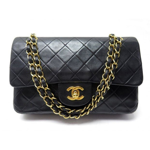 Chanel Vintage Double Flap Bag - Iconics Preloved Luxury
