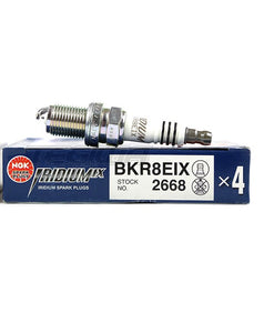 NGK Iridium IX - BKR8EIX sparkplugs (set4)