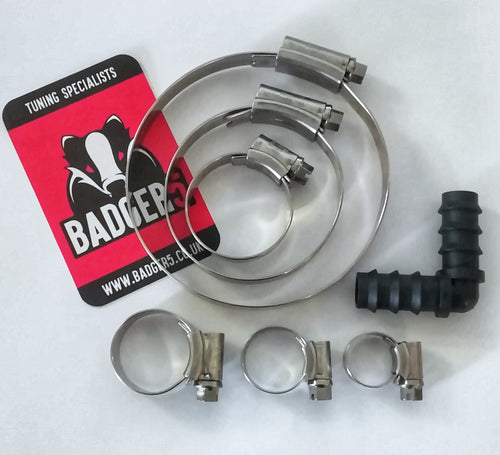 Hose Clip kit for V3 TIP ~(JC Hi-Grip stainless)