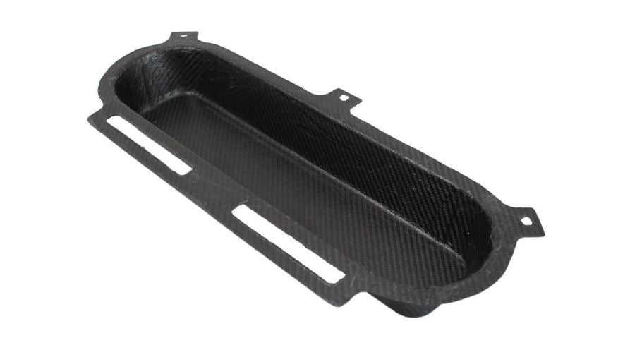 Carbon Air Filter Backplate (undrilled)