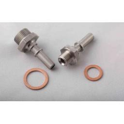 1.8T In Line Fuel Pump plug n play fittings for OE Filter Location pump installs