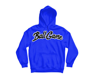 Ball Game Hoodie Royal Blue/Black