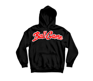 Ball Game Hoodie Black/Red