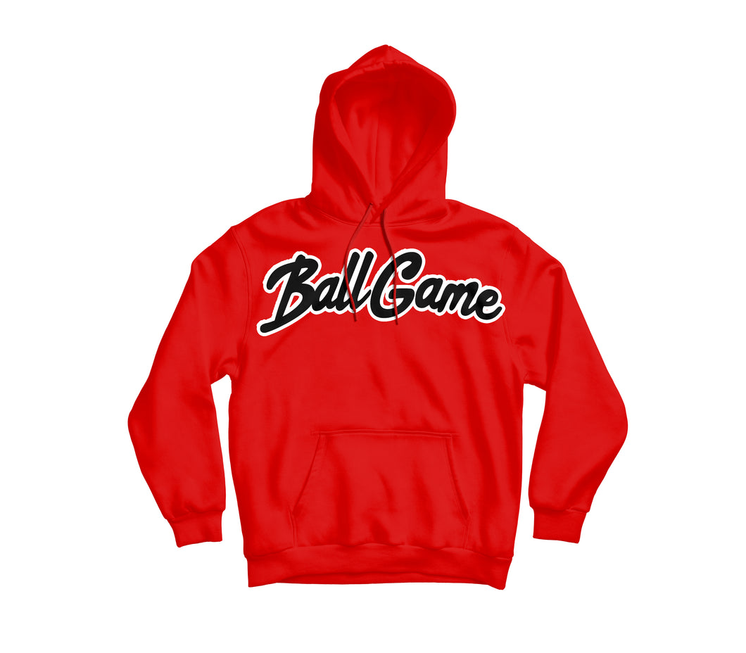 Ball Game Hoodie Red/Black
