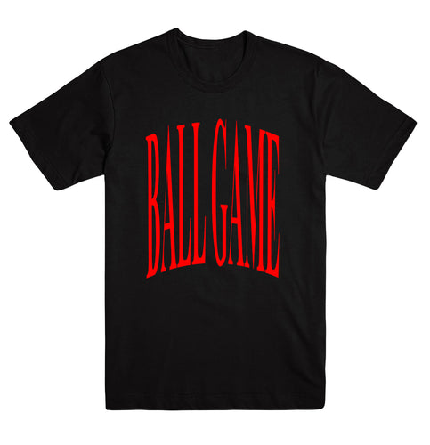 Ball Game Original Tee Black/Red