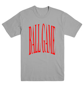 Ball Game Original Tee Grey/Red