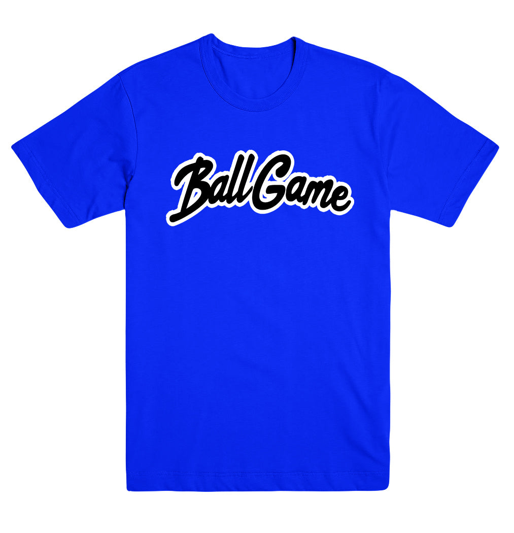Ball Game Tee Blue/Black