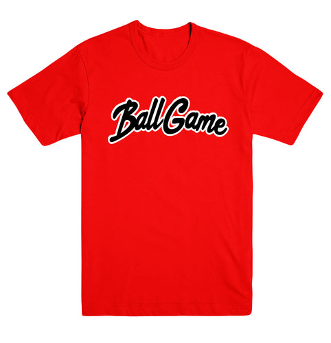 Ball Game Tee Red/Black