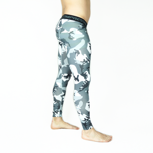Grey Camo Leggings
