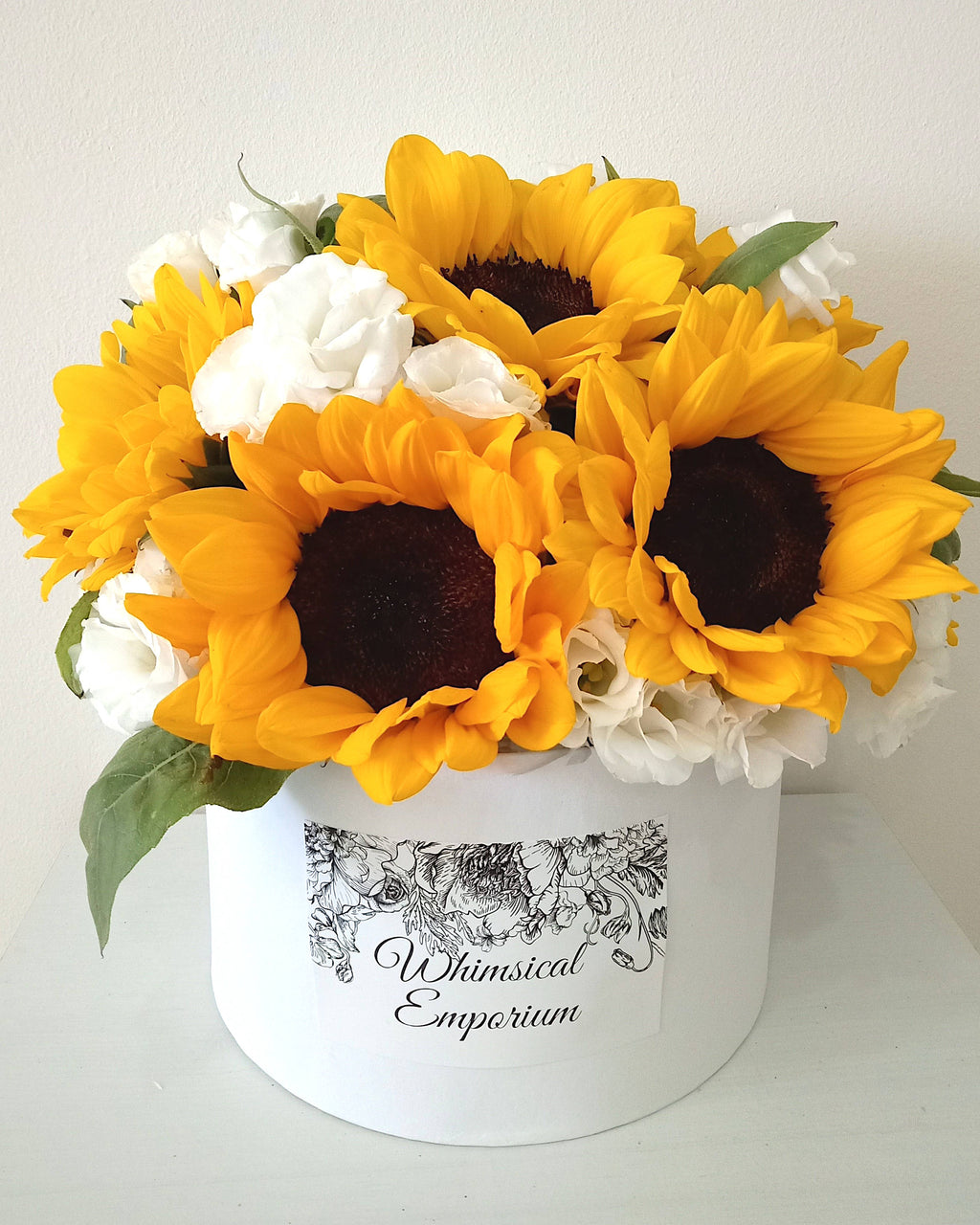 Sunflower & Eustoma Bloom Box