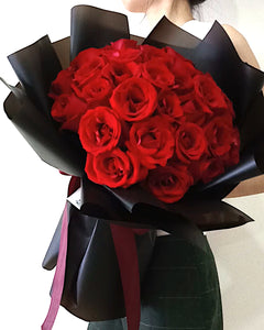 Red Roses Bouquet, Singapore Florist
