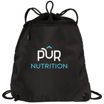The Bring It Better Pur Drawstring Bag
