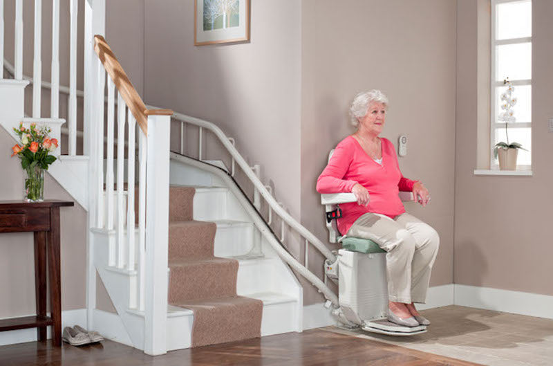 CURVED STAIR LIFTS<p></p><p>Custom built curved stair lifts. High quality, form, and function. Slim and sleek designs, ergonomic seating, premium upholstery, comfortable and safe. And of course whisper quiet.</p>