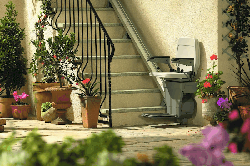 OUTDOOR STAIR LIFTS <p></p><p> Don't let a staircase stand between you and your outdoor activities. View selections here.</p>