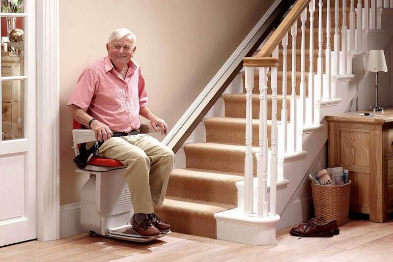 STRAIGHT STAIR LIFTS<p></p><p> If the thought of getting up and down a staircase becomes more challenging, a stair lift or chair lift isn't just a convenient addition to your home, it's a necessity. Enjoy your home!</p>