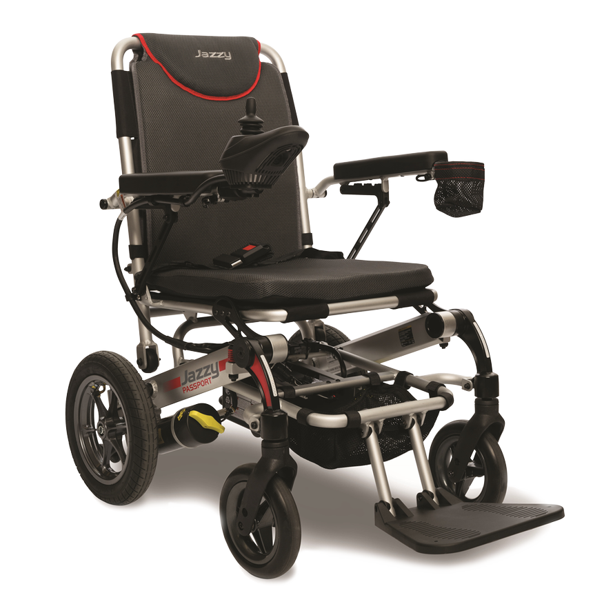 Jazzy Passport Power Wheelchair by Pride Mobility