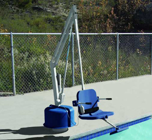 The Titan 600 Pool Lift