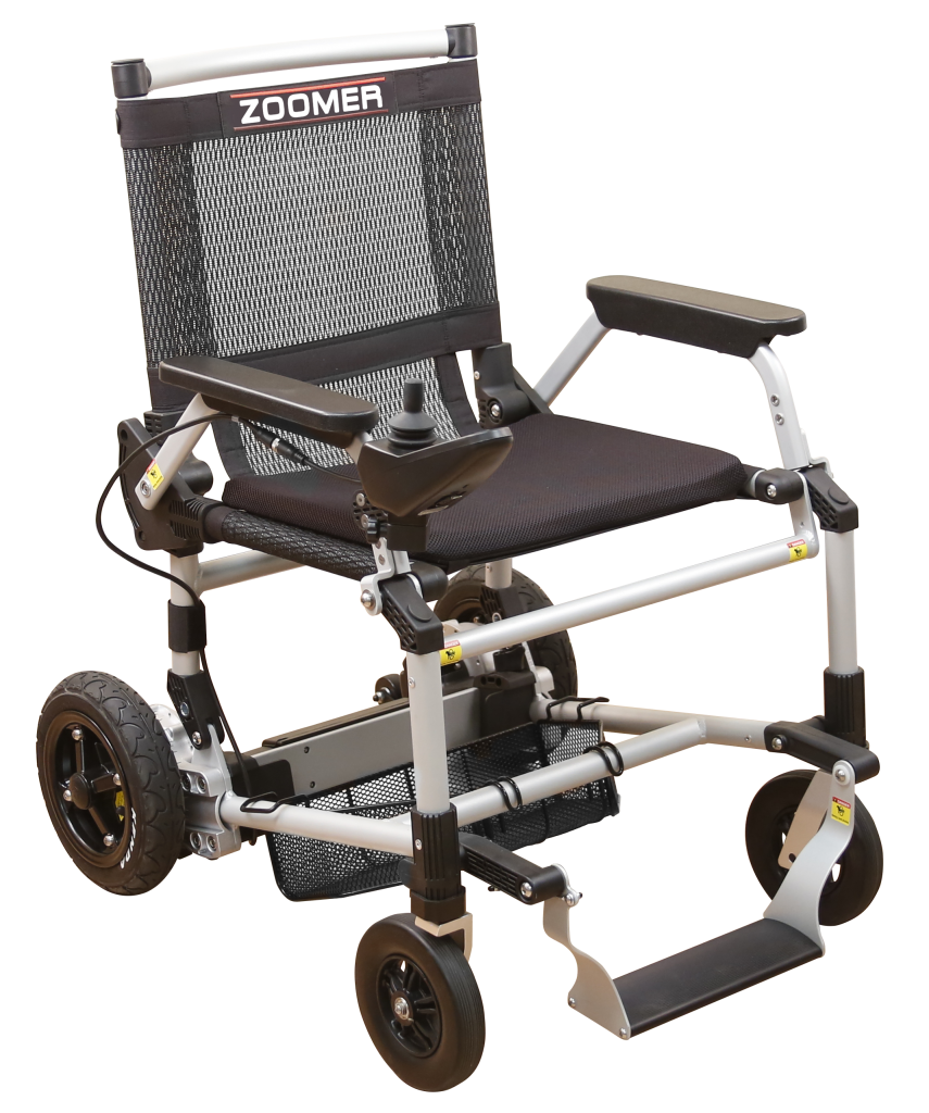 Zoomer Chair with Joystick Controls