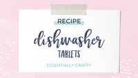 RECIPE: Homemade Dishwasher Tablets