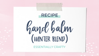RECIPE: Winter Hand Balm
