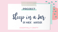 DIY PROJECT: Beauty Sleep in a Jar