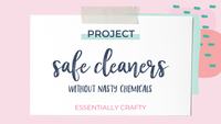 DIY PROJECT: Safe (and Cute) Cleaners!