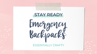 Emergency Backpacks for your Family