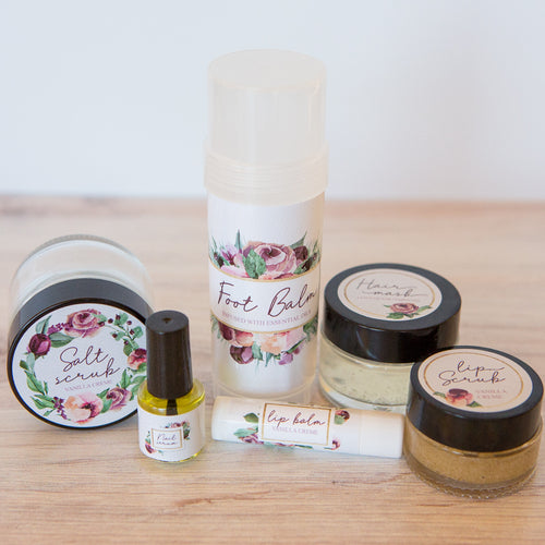 The Pampering Collection - Printable Labels