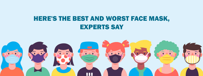 Best & Worst Face Masks according to Experts
