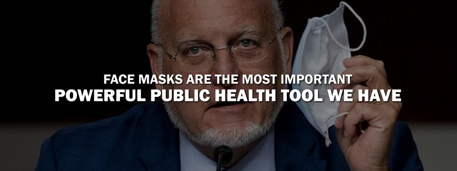 CDC Director Says Most Powerful Tool we have Against COVID-19 are Face Masks
