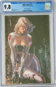 White Widow #1Z - Debalfo Virgin Cover - CGC 9. 8 Blue Label