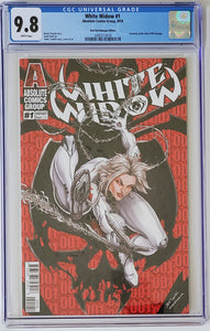 White Widow #1D - Homage Webslinger - CGC 9.8 Blue Label