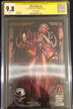 Load image into Gallery viewer, White Widow #3O 9.8 CGC Yellow Label - Gala Lenticular - Signed