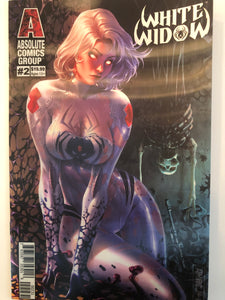 WW02C - White Widow #2 Comic Book - Retail Lenticular Edition