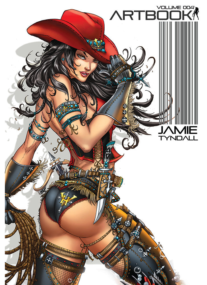 JAMIE TYNDALL ART BOOK VOLUME 004 - SOFTCOVER