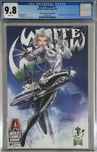 Load image into Gallery viewer, White Widow #1 9.8 CGC Jamie Tyndall Emerald City Exclusive