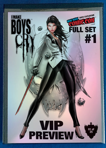 FULL BUNDLE - ALL I MAKE BOYS CRY NYCC 2019 COVERS+