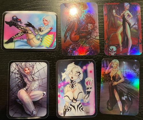 White Widow Trading Cards - Second Two Sets