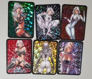 White Widow Trading Cards - Full Set