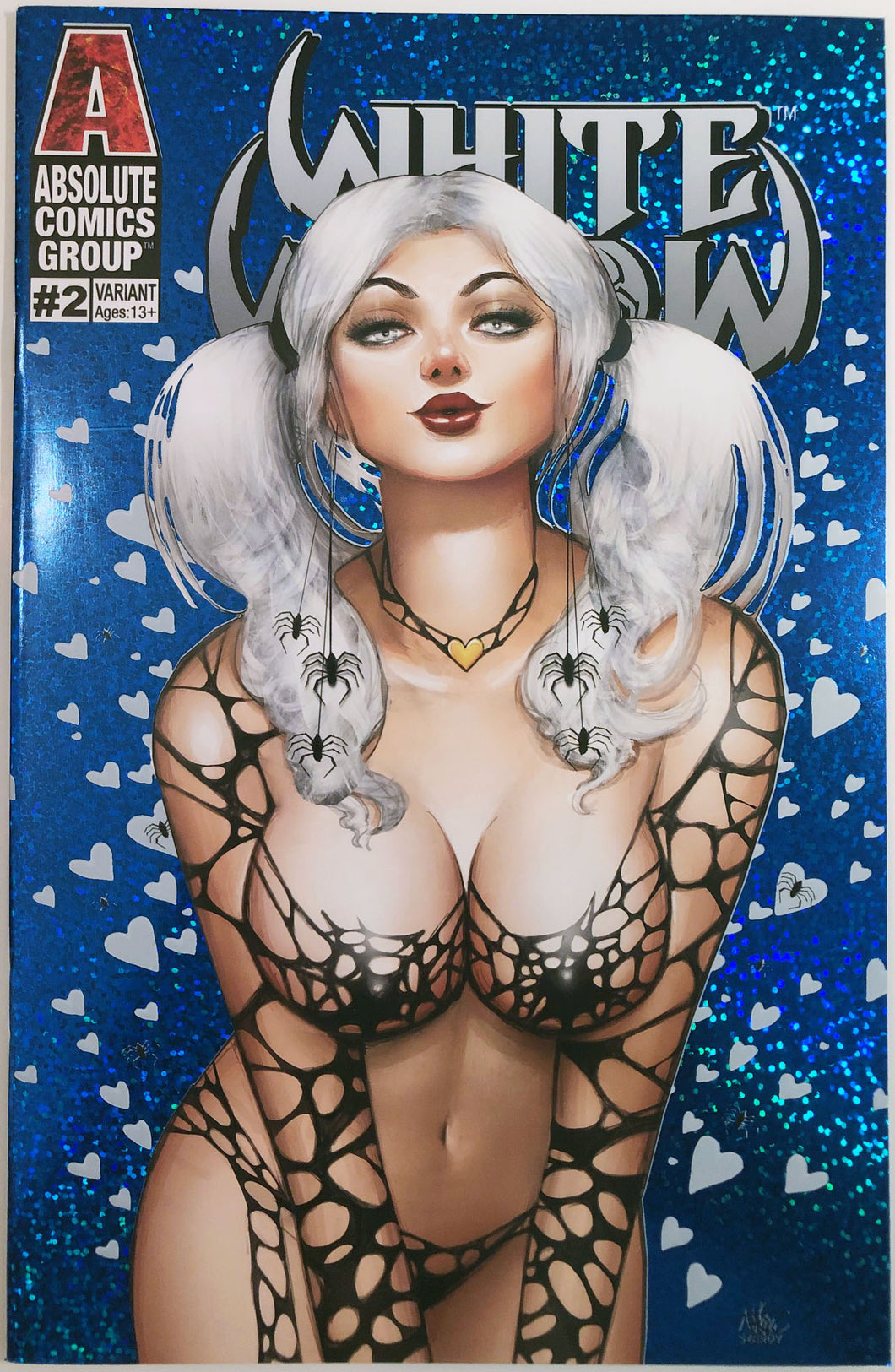 WW02M - White Widow #2 Comic Book - Frozen Hearts