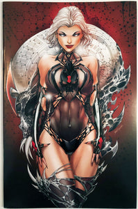 WW02W - White Widow #2 Comic Book - Skull Virgin