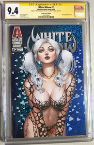White Widow #2 9.4 CGC Signed - Frozen Hearts Nathan Szerdy