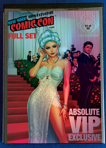FULL BUNDLE - ALL WHITE WIDOW NYCC 2019 COVERS+