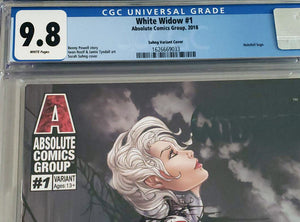 White Widow #1 9.8 CGC Sora Midnight Repose