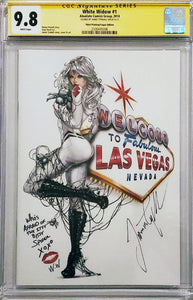 White Widow #1 9.8 CGC Signed - Amazing Con Exclusive LE 50